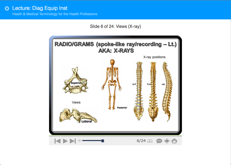 Accredited medical terminology online course caduceus course content this course introduces students to medical terminology fandeluxe Choice Image