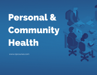 Personal and Community Health Online Course